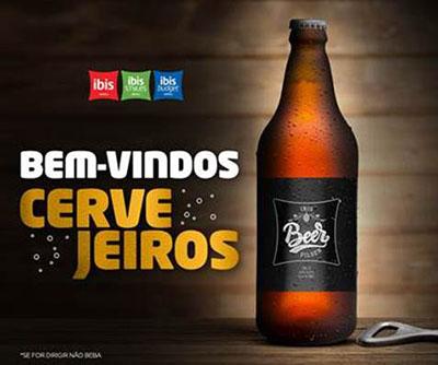 ibis anuncia o lançamento da cerveja ibis Beer
