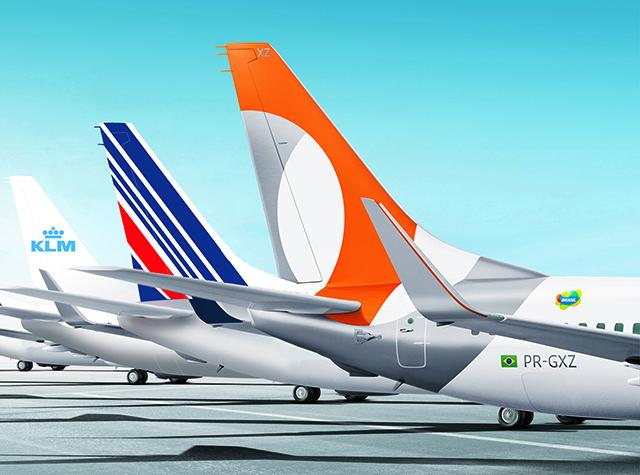GOL e Air France KLM consolidam HUB em Fortaleza com 46% do tráfego total de voos