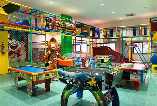 Master Premium Gramado (RS) oferece completo Espaço Kids indoor
