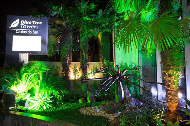 Blue Tree Towers Caxias do Sul inaugura jardim