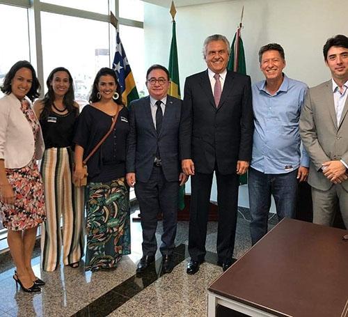 CONOTEL 2019 ganha apoio de Ronaldo Caiado, Governador de Goiás