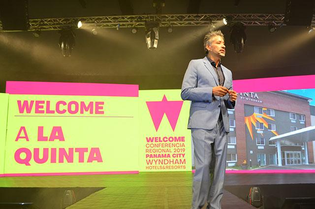 Palestra de Alejando Moreno abriu Conferência Regional 2019 da Wyndham