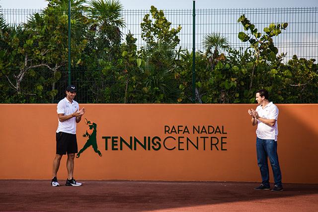 Palladium Hotel Group inaugura Centro de Treinamento de Tênis Rafael Nadal