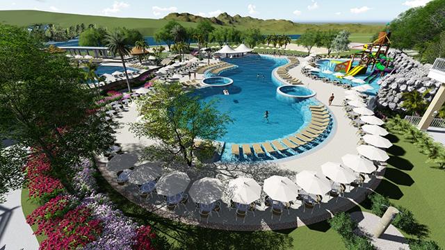 Fazzenda Park Hotel (SC) inicia obras de novo complexo de piscinas