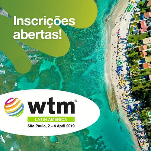 ABIH Nacional terá espaço exclusivo na feira WTM America Latina 2019