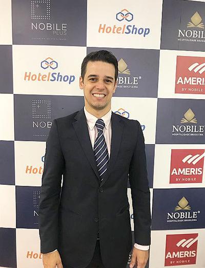 Nobile Hotéis contrata Altieri Menezes como Gerente de Contas
