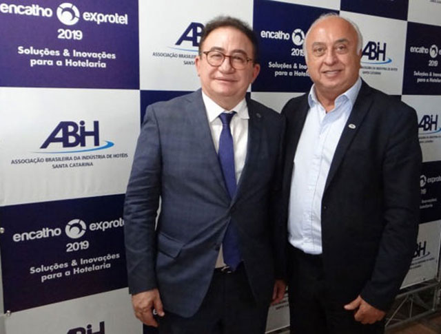 Presidente da ABIH Nacional continua visitas as capitais divulgando o CONOTEL 2019