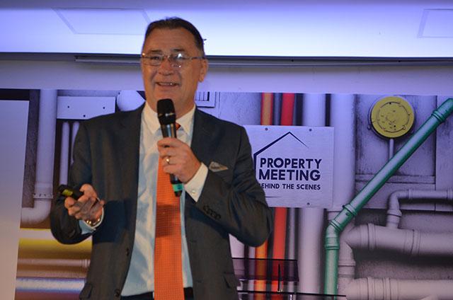 Olivier Hick palestrou no 2º Property Meeting Accor