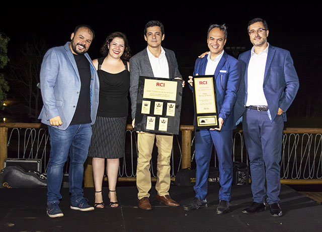 Grupo Mabu e colaborabores recebem prêmios da RCI Brasil