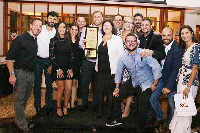 Prime Vacation é reconhecida com o prêmio RCI Top Producer 2018