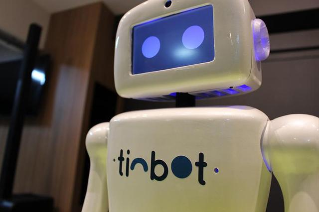 Hotel Villa Rossa investe em robô recepcionista Tinbot