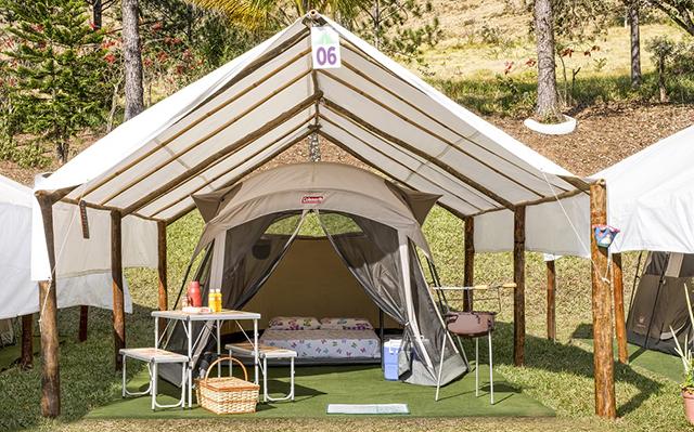 Campings confortáveis de Socorro (SP) atraem aventureiros iniciantes