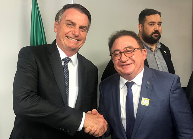 ABIH Nacional participa de encontro de entidades com o presidente Jair Bolsonaro