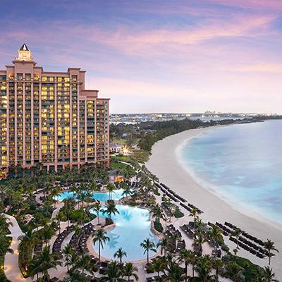 Atlantis Paradise Island Bahamas renova uma de suas principais torres