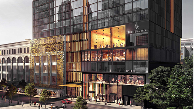 Four Seasons Hotel and Private Residences Montreal, no Canadá, é inaugurado