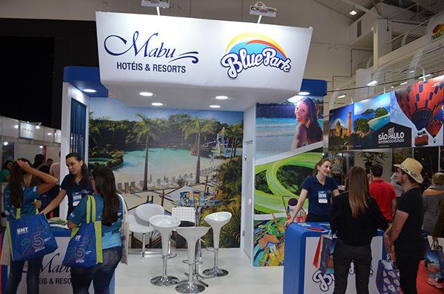 Grupo Mabu apresenta o Blue Park durante a 25ª edição da BNT Mercosul