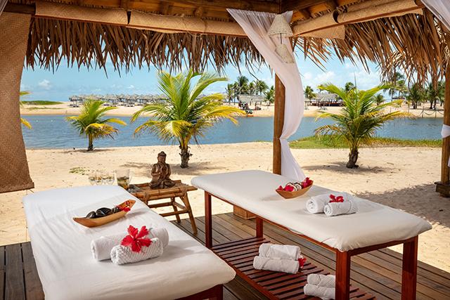 Pratagy Beach All Inclusive Resort – Wyndham (AL) abre spa na área da praia
