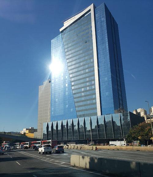 Obra que seria um hotel Golden Tulip em BH, pode virar um hospital da Rede D'Or