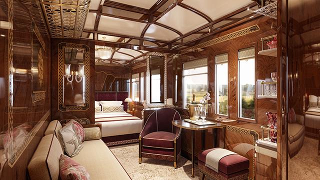 Belmond cria três novas suítes para o trem Venice Simplon-Orient Express
