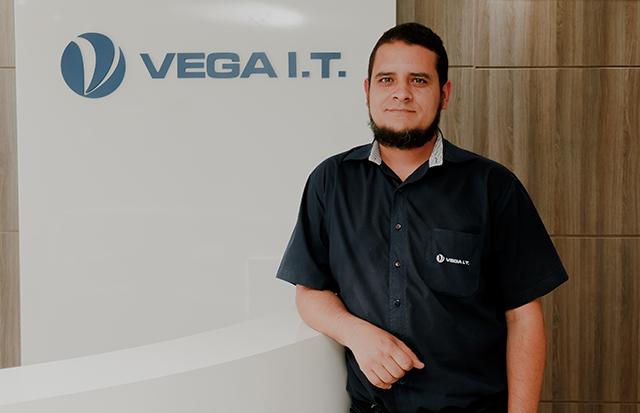Marcio Oliveira é o novo Coordenador de Suporte Técnico da Vega I.T.