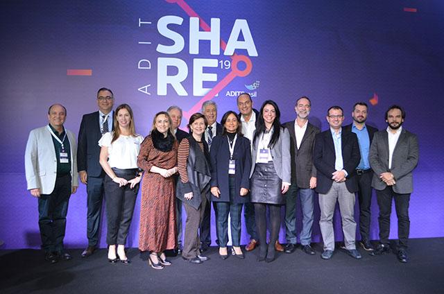 Nova diretoria da ADIT Brasil tomou posse na abertura da 7ª edição do ADIT Share