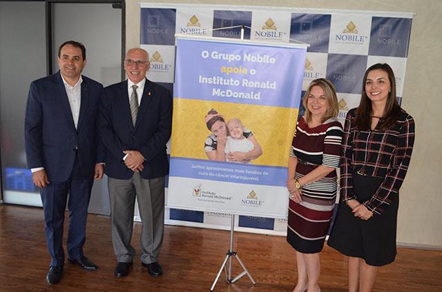 Nobile Hotéis assina parceria com Instituto Ronald McDonald