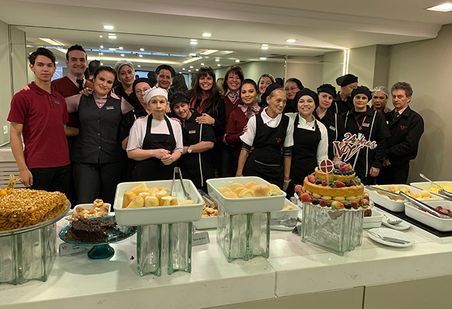 Hotel Victoria Villa Curitiba completa 24 anos consolidado no segmento corporativo