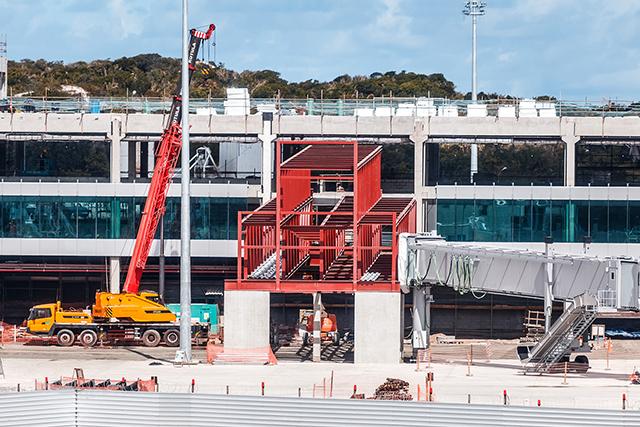 Aeroporto de Salvador (BA) já conta com 85% das obras concluídas