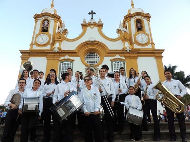 Cidade de Tiradentes (MG) realiza o 3° Encontro de Bandas