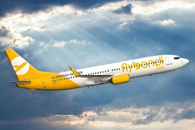 Flybondi realiza voos neste fim de semana para brasileiros que querem voltar para o País