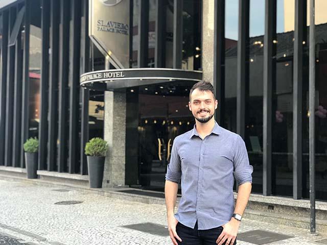 Slaviero Hotéis apresenta Guilherme Mendes como novo Gerente de marketing