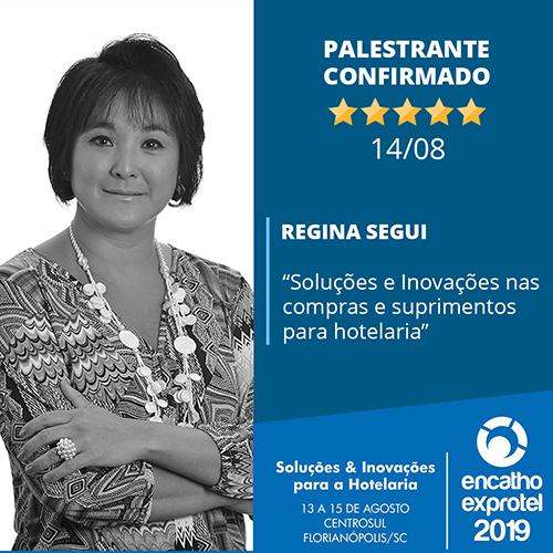 Regina Segui, Diretora da Atlantica Hotels, palestrará na 32ª edição do ENCATHO