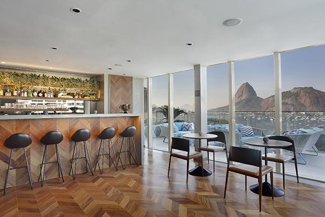The Rooftop, do hotel Yoo2 Rio de Janeiro, é eleito bar com melhor visual da cidade