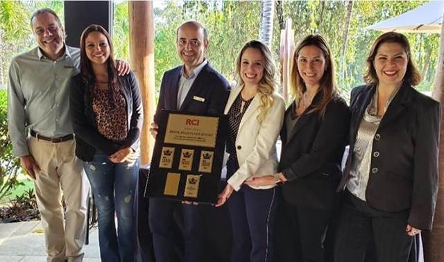 Vacation Club do Royal Palm Plaza é premiado pela RCI