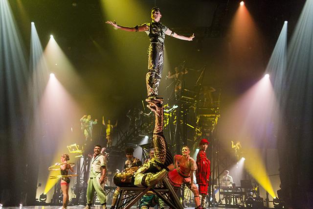 Hard Rock Hotel Punta Cana recebe espetáculo Bazzar, do Cirque du Soleil