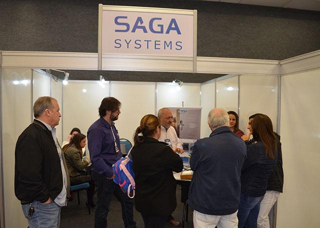 Saga Systems participa do 32º Encatho & Exprotel