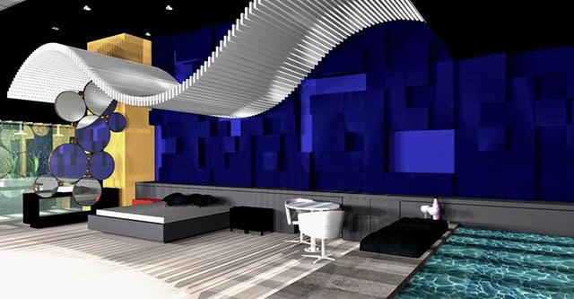 7º Motel Design apresentará na Equipotel conceito inovador de suítes