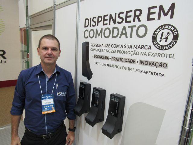 Harus celebra nova linha de dispensers e sucesso de parceria com o Boticário