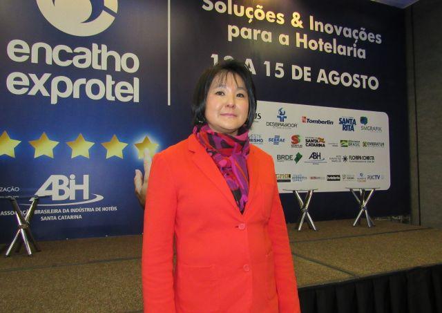 Regina Segui, Diretora da Atlantica Hotels, palestrou no 32º Encatho & Exprotel