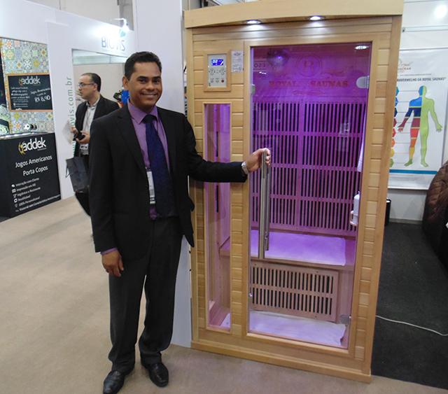 Royal Saunas apresenta na Equipotel as cabines de infravermelho longo detox
