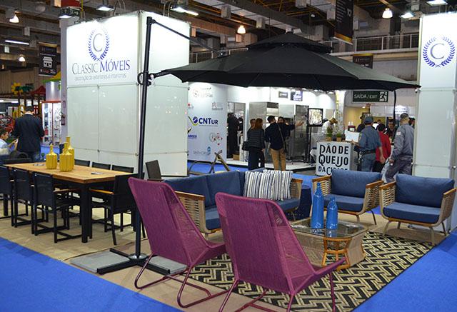 Classic apresenta móveis feitos com corda náutica Hospitality Business Fair