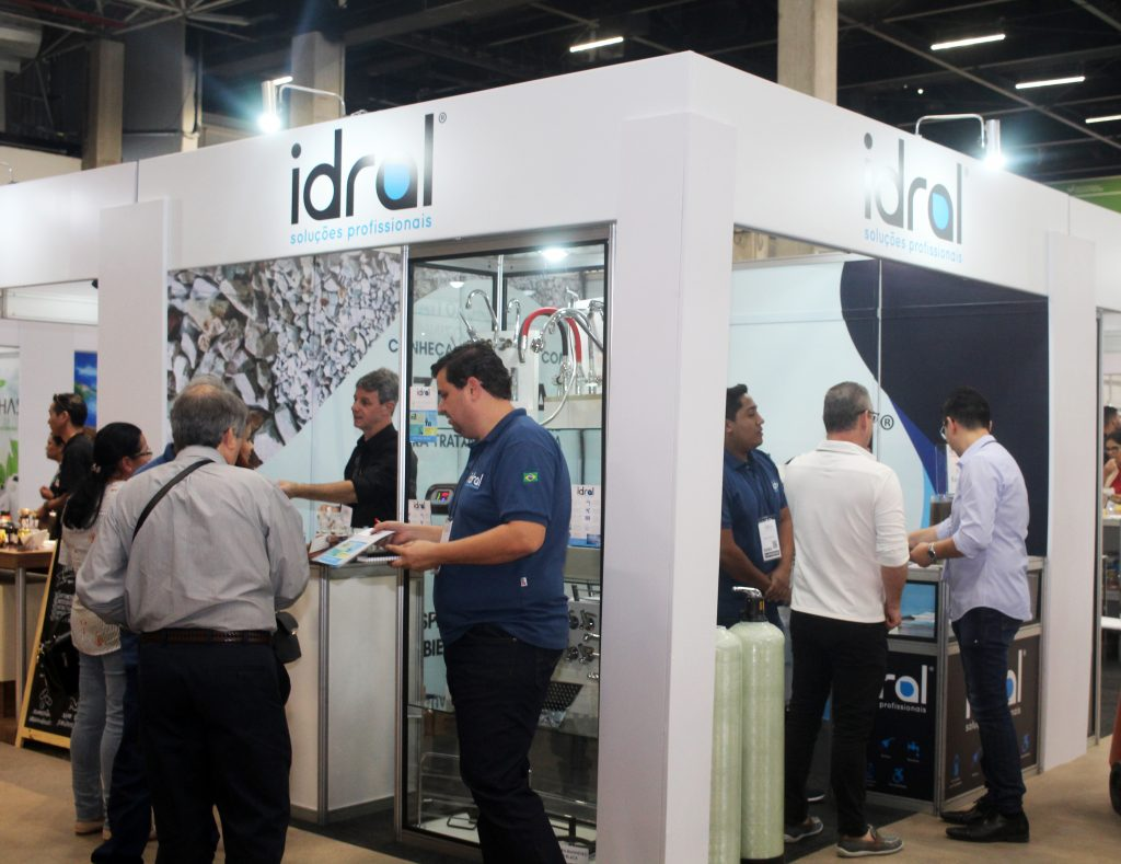 Idral mostra novidades no tratamento de água na 57ª Equipotel