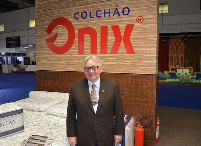 Colchões Onix divulga novidades na 1ª Hospitality Business Fair