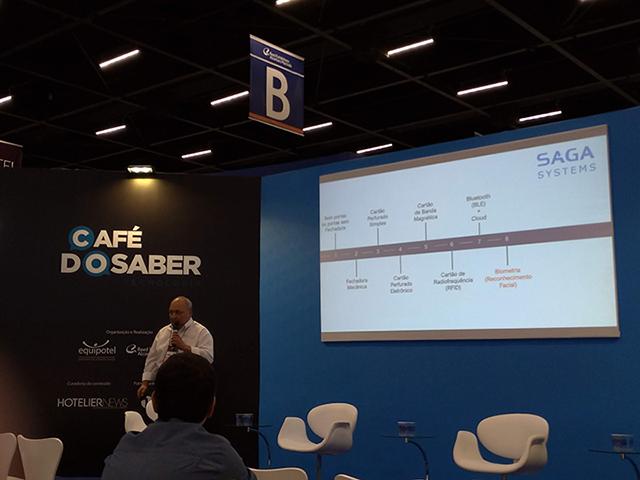 Segurança física e acesso via bluetooth é tema de palestra da Saga Systems
