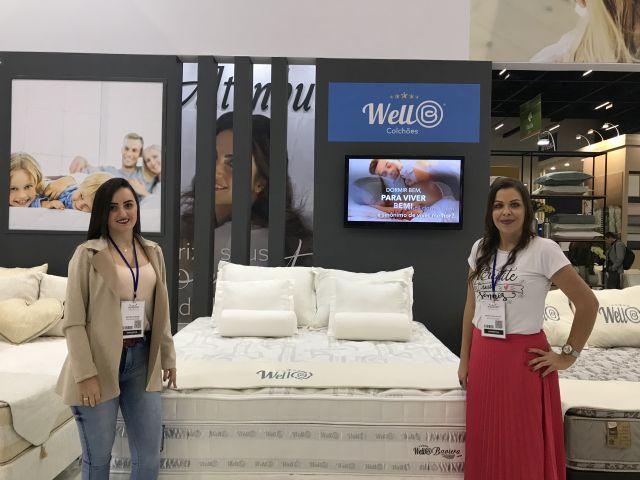WellB Colchões traz modelo exclusivo em seu segundo ano de Equipotel