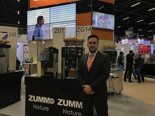 Zummo apresenta máquina de extração self service em 57ª Equipotel