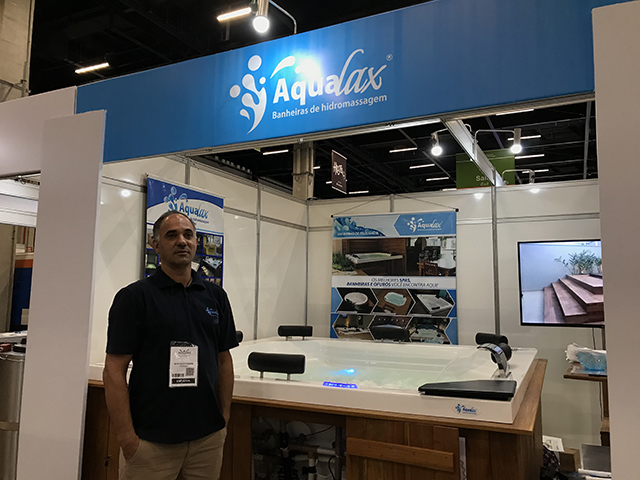 Aqualax participa pelo segundo ano consecutivo da Equipotel