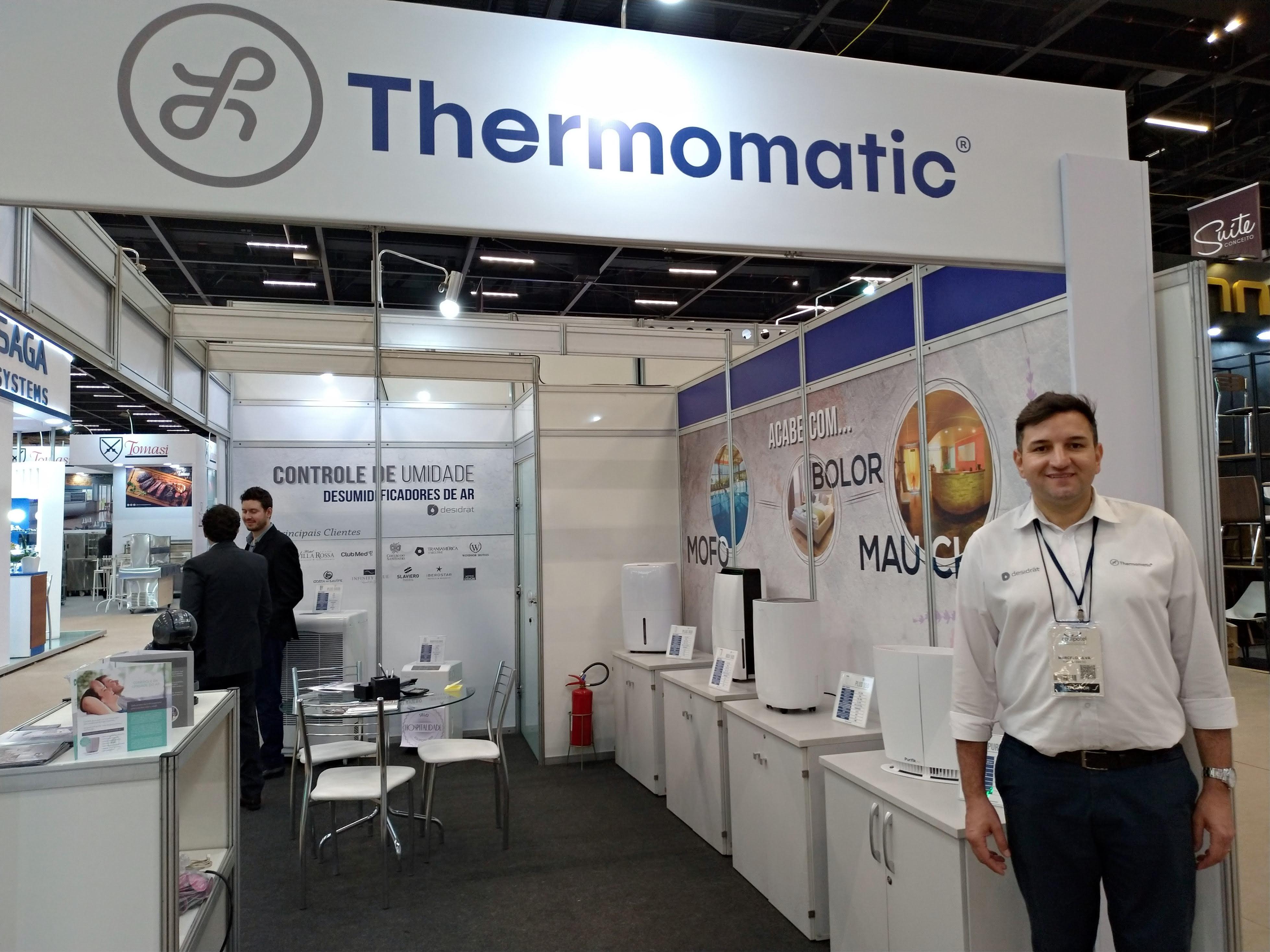 Desumidificador 'Plus 300' e 'Max 500' são as novidades da Thermomatic na Equipotel