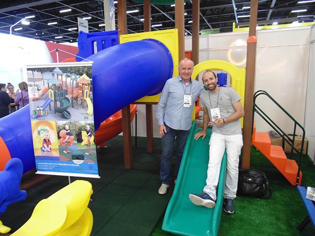 Krenke Brinquedos lança Scandere Domos, a Casa de Escalada, na Equipotel 2019