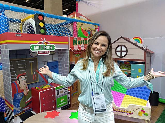 Única com linha 'Acessibilidade', Nogueira Brinquedos traz novidades na Equipotel